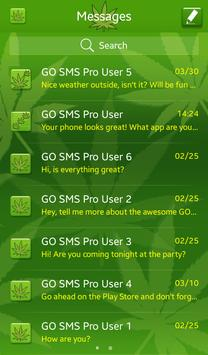 Weed for GO SMS apk screenshot