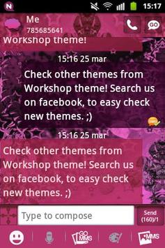 Pink dark star go sms theme apk download free personalization app pink dark star go sms theme apk screenshot altavistaventures
