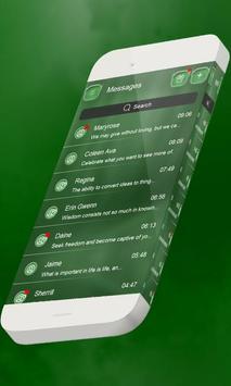 Minty S.M.S. Theme apk screenshot