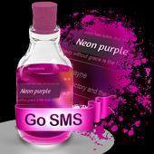 Neon purple S.M.S. Theme icon