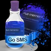Blue memento icon