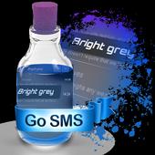 Bright grey S.M.S. Theme icon