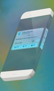 Bright light S.M.S. Theme apk screenshot