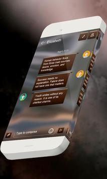 Electric S.M.S. Theme apk screenshot