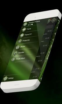 Green soup S.M.S. Theme apk screenshot