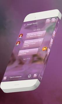 Pink candy S.M.S. Theme screenshot 1