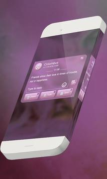 Pink candy S.M.S. Theme screenshot 2