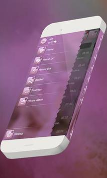 Pink candy S.M.S. Theme screenshot 3