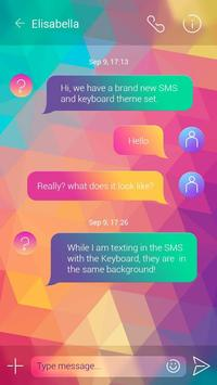 GO SMS PRO COLORFUL THEME apk screenshot