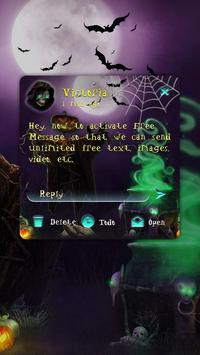 GO SMS HALLOWEEN THEME apk screenshot