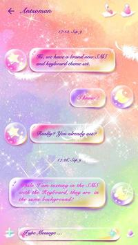 GO SMS PRO PASTEL STAR THEME apk screenshot