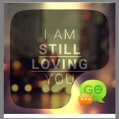 GO SMS PRO STILL LOVING THEME icon