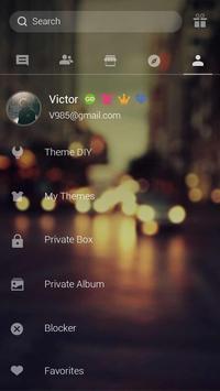 GO SMS PRO STILL LOVING THEME apk screenshot