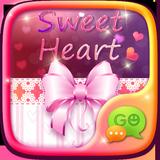 GO SMS PRO SWEET HEART THEME