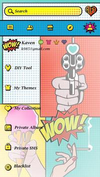 GO SMS PRO WOW THEME apk screenshot