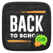 GO SMS BACK TO SCHOOL THEME icon