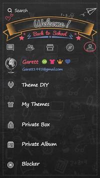 GO SMS BACK TO SCHOOL THEME screenshot 4