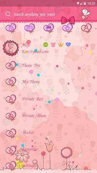 GO SMS CUTE CAT THEME screenshot 4