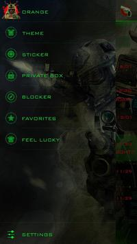 GO SMS PRO CODE 9 THEME apk screenshot