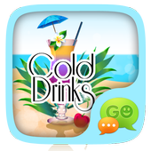 GO SMS COLD DRINKS THEME icon