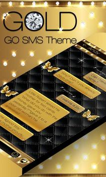 GO SMS PRO GOLD THEME poster