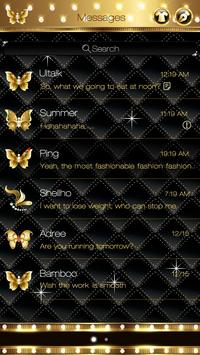 GO SMS PRO GOLD THEME screenshot 1