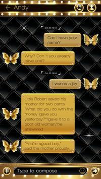 GO SMS PRO GOLD THEME screenshot 2