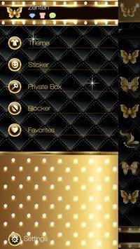 GO SMS PRO GOLD THEME screenshot 4