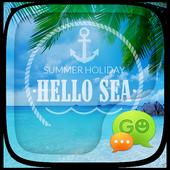 GO SMS PRO HELLO SEA THEME icon
