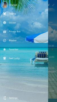 GO SMS PRO HELLO SEA THEME screenshot 4
