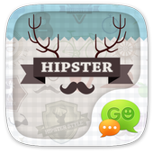 GO SMS PRO HIPSTER THEME icon