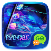 GO SMS PSYCHEDELIC THEME icon