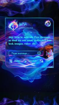 GO SMS PSYCHEDELIC THEME screenshot 3