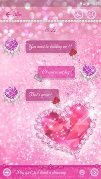 GO SMS SELINA THEME apk screenshot