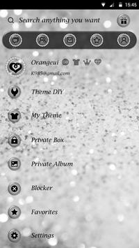 GO SMS PRO SILVER THEME apk screenshot