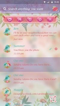 GO SMS SONG OF SPRING THEME apk screenshot