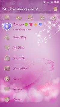 GO SMS PRO THIS LOVE THEME apk screenshot