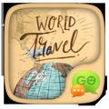 GO SMS WORLD TRAVEL THEME
