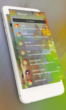 Beautiful GO SMS screenshot 1