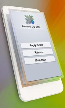 Beautiful GO SMS screenshot 5