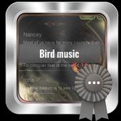 Bird music GO SMS icon