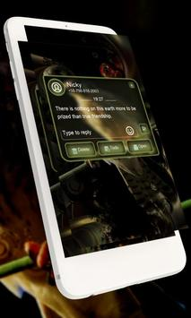 Bird music GO SMS apk screenshot