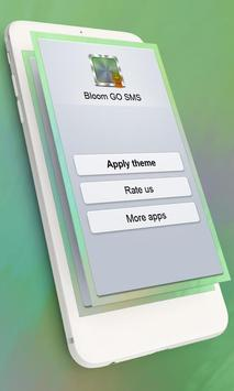 Bloom GO SMS poster