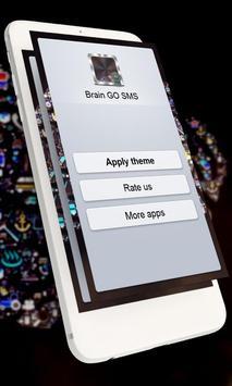 Brain GO SMS poster