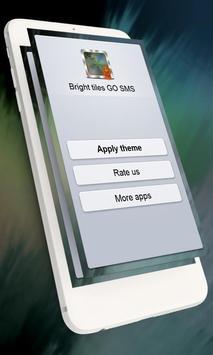 Bright tiles GO SMS apk screenshot