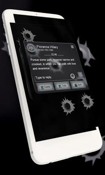 Bullet hole GO SMS screenshot 12