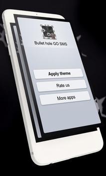 Bullet hole GO SMS screenshot 9