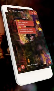 Burning GO SMS apk screenshot