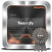 Butterfly GO SMS icon