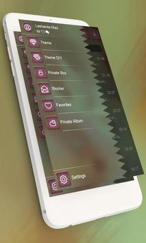 Candy pink GO SMS screenshot 4